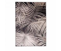 Tapis motif palmier noir Palm by Night Zuiver - Dimensions - 200x300 cm - Tapis et paillasson