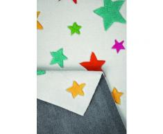 Tapis enfant Simple Stars Smart Kids Blanc 110x170 - Tapis et paillasson