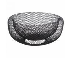 Corbeille à fruits design Mesh - Diam. 27 cm - Noir - platerie, service