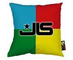 JLS - Coussin 3D - Enfant (40cm x 40cm) (Multicolore) - UTCU179 - Textile séjour