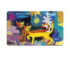 Fridolin 12211 rosina wachtmeister wonderland planche à découper mélamine multicolore 23,5 x 0,2 x 14,5 cm - Ustensiles