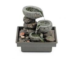 Pajoma - 18430 fontaine d'intérieur en polyrésine - 25 cm - Accessoires de rangement