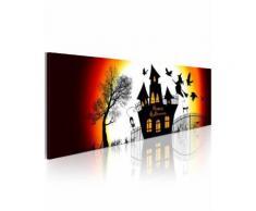 Recollection - Tableau d'une grande qualité 'Halloween noir' est imprimé sur une vraie toile à peindre. C'est l'un de plusieurs motifs originaux à commander chez not - Décoration murale