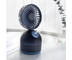 Portable Air conditionné Ventilateur ventilateur et pulvérisation Humidification bureau Humidificateur - Santé et soins