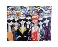 Tableau peinture à l'huile Lunettes de soleil 120 x 150 cm - Décoration murale