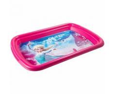 Plateau La Reine des Neiges Disney repas enfant rose - Boite de rangement