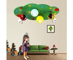 Plafonnier sous forme nuage pour Chambre d'enfants - Suspensions et plafonniers