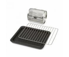 Klarstein Blaise Set 3 accessoires pour four vapeur: grille, plaque & panier à rôtir - Accessoires appareil de cuisson