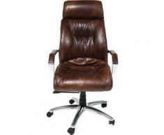 Fauteuil de Bureau Cigar Lounge Kare Design - Sièges et fauteuils de bureau