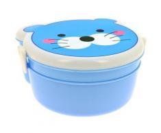 Set Panier Repas Enfant Boite Gouter Bébé Lunch Box Chaton - Autres