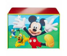 Disney Boîte à jouets Mickey Mouse 60 x 40 x 40 cm Bleu Bois - Boite de rangement