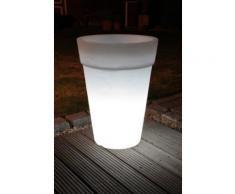 Lampe De Décoration Pot Lumineux Conrad 68 Cm, Blanc 32096 Ampoule Éco-Eclairage Extérieur - Appliques et spots