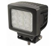 Phare travail carre spot 9 Led 8100 lumen 90 W - Équipements électriques pour luminaire
