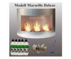 Cheminée Bio-Ethanol / Modèle Marseille-Deluxe / Couleur Argent - Autres