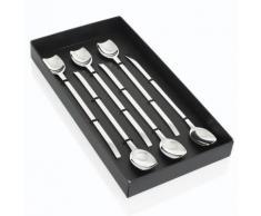 Table Passion - Coffret 6 Cuilleres Glace Longue Spiga - couverts