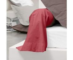 Taie de traversin uni 185X43 cm 100% coton ALTO Garance - Linge de lit