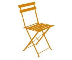 Chaise de jardin pliante Camarque - Orange - Objet à poser