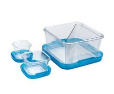 3 boîtes alimentaires sans bpa bleu Oxo 1265280 - Conservation