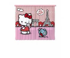 AG Design FCS xl/4311 Rideau Voilage pour Chambre d'enfant Motif Hello Kitty - Objet à poser