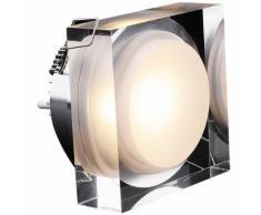 Spot LED THOMSON encastrable carré 92x92mm 15W 1378Lm Blanc neutre - Appliques et spots
