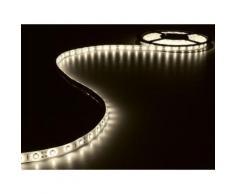 Ensemble de bande à led flexible et alimentation - blanc chaud - 180 led -3 m - 12 vcc velleman leds14ww - Appliques et spots