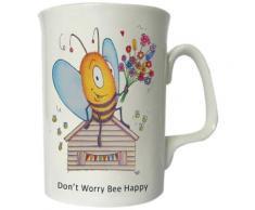 the compost heap dont worry bee happy tasse - Petit-déjeuner