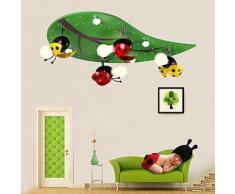 Plafonnier LED en Bois pour chambre d'enfants - Suspensions et plafonniers