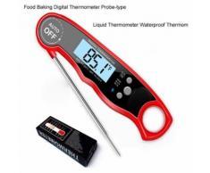 Aliments de cuisson Thermomètre numérique Sonde de type liquide Thermomètre Thermom étanche - Accessoires pour drones