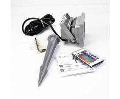 X4-life 701455 projecteur led rvb x4-tech - Ampoules et câbles