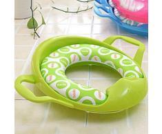 Couvercle et tapis de toilettes pour enfants en plastique - Accessoires salles de bain et WC