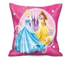 Coussin Disney Princesses rose - Rideaux et stores