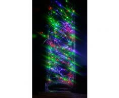 Guirlande cascade intérieur 700 LED - 3,5 m - Multicouleur - Lampes