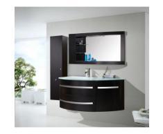 MEUBLE SALLE DE BAIN BLANC VASQUE LUXE, LAVABO ,mod. Black Ambassador 120 cm - Installations salles de bain