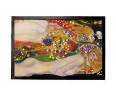 Gustav Klimt Paillasson Essuie-Pieds - Serpents D'Eau II, 19041907 (60x40 cm) - Tapis et paillasson