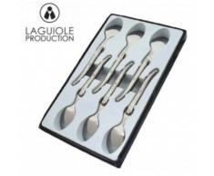 Laguiole - I7554-6 - Coffret de 6 Cuillères à Café [Cuisine] - Ustensiles