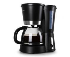 Klarstein Sunday Morning Machine à café 900W 1,5L - noir - Expresso et cafetière