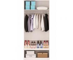 Caisse avec étagères et porte chaussures MAO - Armoire