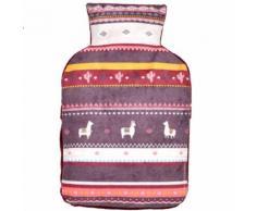 Coussin bouillotte en noyaux de cerises Lama - Relaxation et massage