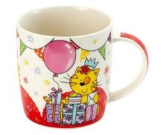 jd diffusion k4622 coffret de 1 mug chat avec cadeaux + boîte tirelire - Petit-déjeuner