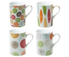 Table Passion - Coffret De 4 Mugs Bali 30Cl - vaisselle