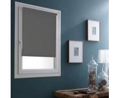 Store Enrouleur Occultant Sans percer - 42 x 170cm-Gris souris - Fenêtres et volets