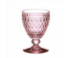 Verre à eau Rose ( par 4 ) - Boston Coloured par Villeroy & Boch - Verrerie