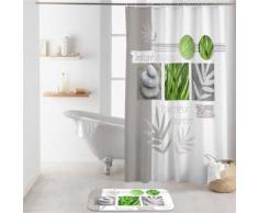 Rideau de douche 180x200 MOMENT ZEN - Accessoires salles de bain et WC