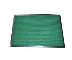 Tapis antidérapant classique en polypropylène 60 x 90 cm Vert - Accessoires de bain
