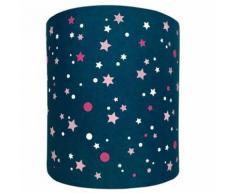 Abat-Jour Etoiles Galaxie Night Lilipouce Rose 35 cm - Suspensions et plafonniers