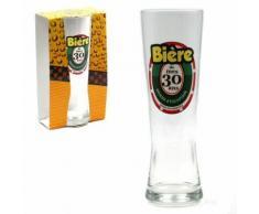 Verre à Bière - 30 Ans - Verrerie