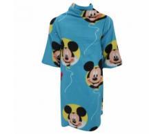 Disney Mickey Mouse - Couverture en polaire à manches - Garçon (90cm x 120cm) (Bleu) - UTMS339 - Linge de lit