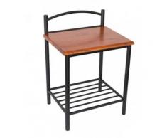 table de chevet avec pieds acheter tables de chevet avec pieds en ligne sur livingo. Black Bedroom Furniture Sets. Home Design Ideas