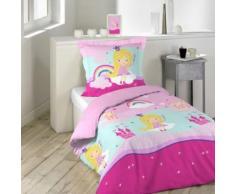 Parure de lit enfant fée 140x200 - Douceur d'Intérieur - Linge de lit