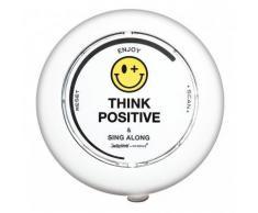 Radio de douche à ventouses - Think positive - Incidence - Objet à poser